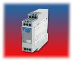 Voltage Motor Thermistor Relay provides a reaction time of less than 500 ms.